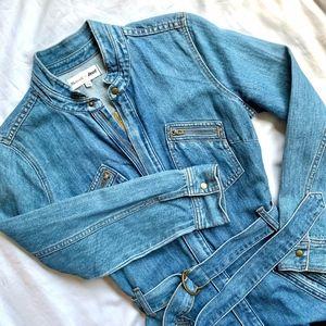 MADEWELL • DARYL K BLUE SOFT DENIM SHIRT DRESS